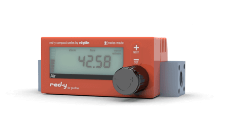 red-y compact series digital massflow meters device generation I