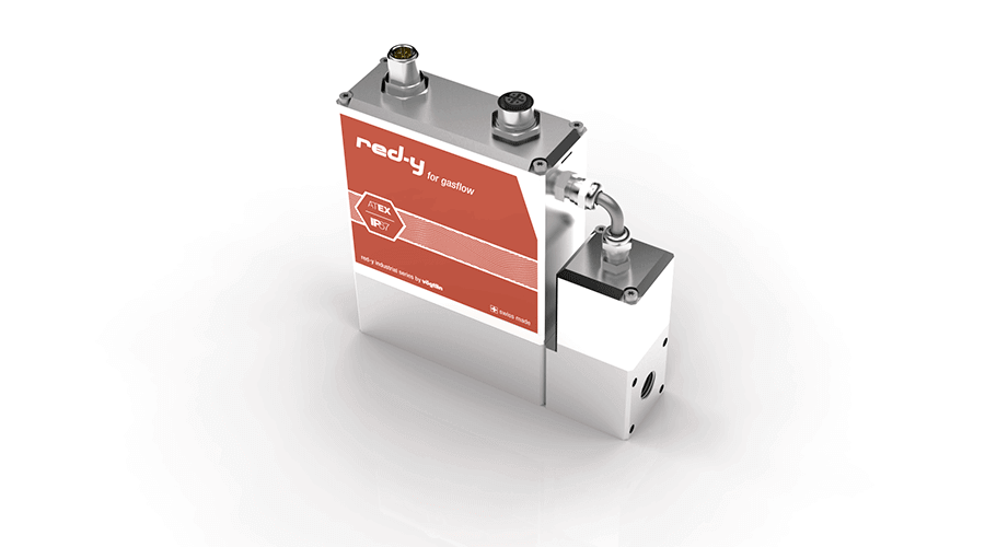 Mass Flow Controller with IP67 & Ex Protection red-y industrial controller with M12 plug