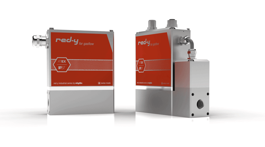 Mass Flow Meters & Controller with IP67 & Ex Protection red-y industrial series